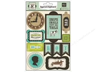 Family paper dimensions: Echo Park Chipboard Layered This & That Charming