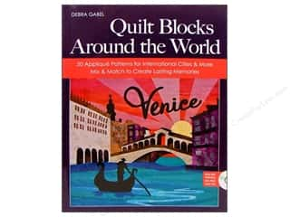 CD Rom $6 - $12: C&T Publishing Quilt Blocks Around The World Book by Debra Gabel