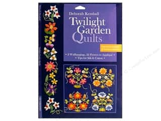 Flowers $4 - $5: C&T Publishing Twilight Garden Quilts Book by Deborah Kemball