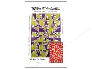 Serendipity Studio Clearance Patterns: The Quilt Studio Tilting At Windmills Pattern