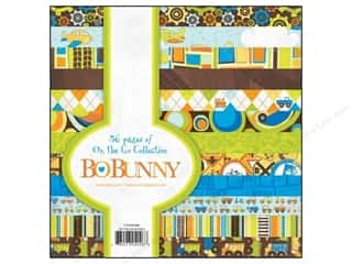 Bo Bunny Paper Pad 6&quot;x 6&quot; On The Go