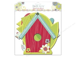 Chipboard Shapes  Flowers: Bo Bunny Album Mini Edgy Alora