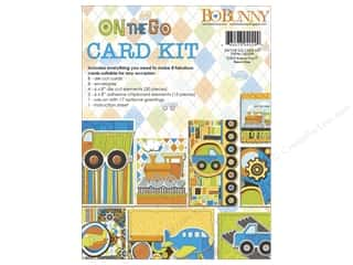 Blank Card & Envelopes: Bo Bunny Card Kit On The Go