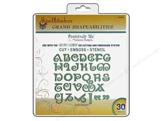 Spellbinders Grand Shapeabilities Die Jewel Alphabet