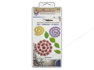 Spellbinders Flowers: Spellbinders Shapeabilities Die Bitty Blossoms