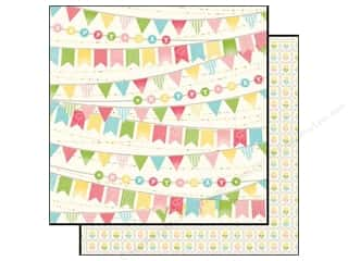 Echo Park Paper 12x12 Birthday Girl Banner (15 piece)