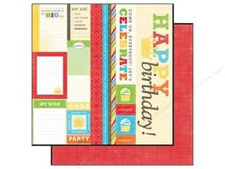 Echo Park 12 x 12 in. Paper Birthday Boy Journaling (15 piece)