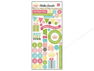 Echo Park Sticker 6&quot;x 12&quot; Birthday Girl (15 set)