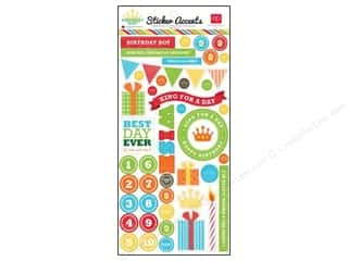 Echo Park Sticker 6&quot;x 12&quot; Birthday Boy (15 set)