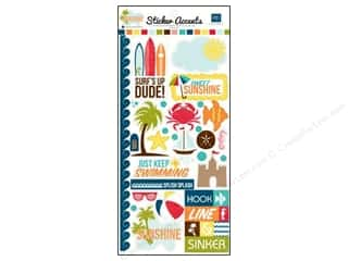 Border Stickers / Corner Stickers: Echo Park Sticker Sunshine (15 set)