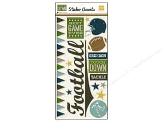 "Echo Park Sticker 6""x 12"" Touchdown (15 set)"