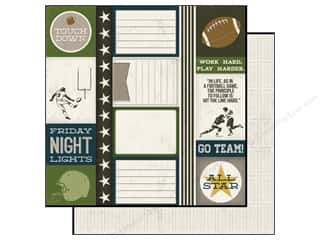 Echo Park Paper 12x12 Touchdown Journaling (15 piece)