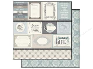 Echo Park 12 x 12 in. Paper Melody Of Life Journaling (15 piece)