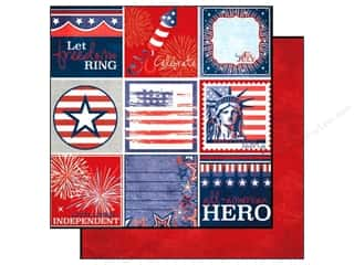 Echo Park 12 x 12 in. Paper 4th of July Journaling (15 piece)