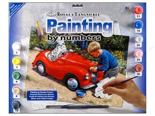 Paints Burgundy: Royal Paint By Number Junior Large Spot's Car Wash
