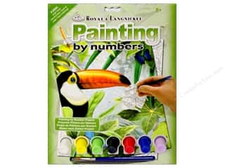 Royal Rub Ons: Royal Paint By Number Junior Small Jungle