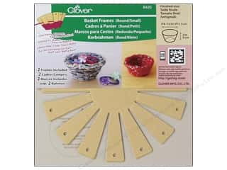 Quilting/Weaving Frames: Clover Basket Frames Small Round