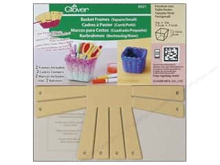 Sewing Construction Family: Clover Basket Frames Small Square