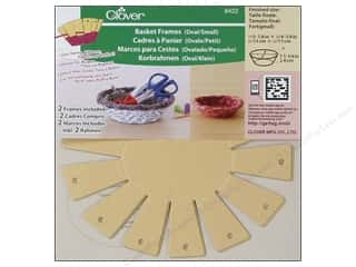 Quilting/Weaving Frames Gifts & Giftwrap: Clover Basket Frames Small Oval