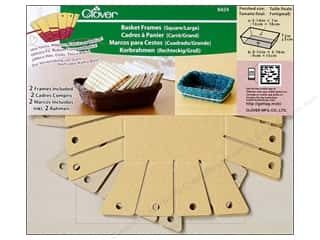 Quilting/Weaving Frames Yarn & Needlework: Clover Basket Frames Large Square