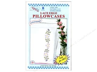 Jack Dempsey Pillowcase Lace White Starflowers