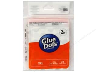 Glues/Adhesives inches: Glue Dots XXL 2 in. 24 pc.
