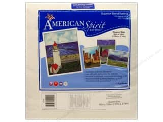 "Sewing Construction Weekly Specials: Fairfield American Spirit Batting Superior Cotton/Poly 90""x 108"""