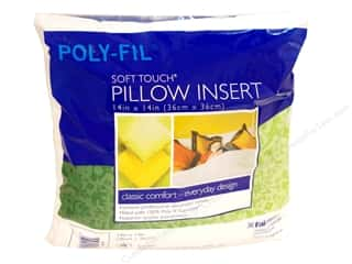 Pillow Shams: Fairfield Pillow Form Soft Touch Poly Fill Supreme 14 Square