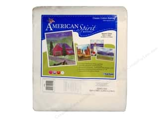 "Quilt Batting: Fairfield American Spirit Batting Classic 90""x108"""