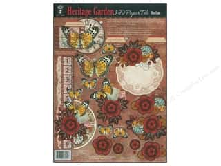 Hot Off The Press Die Cut Papier Tole Garden