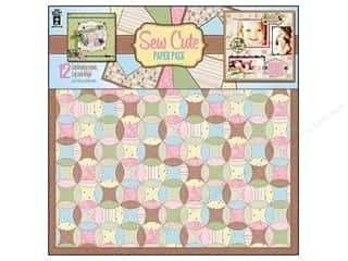 Hot off the Press  Papers: Hot Off The Press Paper Pack 12x12 Sew Cute