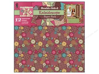 Hot Off The Press Paper Pack 12x12 Kaleidoscope DS