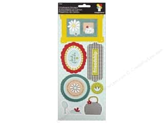 Imaginisce Stickers Sole Sisters Chipboard Note-orious