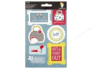 2013 Crafties - Best Adhesive: Imaginisce Stickers Sole Sisters Stacker Girl's Nite Out