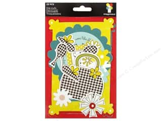 2013 Crafties - Best Adhesive: Imaginisce Die Cut Sole Sisters Girl