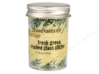 Stampendous Fran-Tage Glitter Glass Grass Green