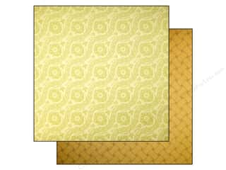 Anna Griffin 12 x 12 in. Cardstock Haven Jacquard Olive (25 piece)