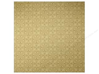 Anna Griffin 12 x 12 in. Cardstock Haven Gold Embossed (25 piece)