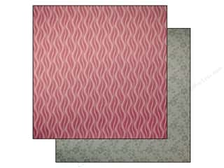 Anna Griffin Clearance Crafts: Anna Griffin 12 x 12 in. Cardstock Palmer Wavy Pink (25 pieces)
