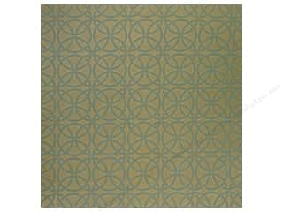Anna Griffin Paper 12x12 Palmer Dec Circles Blue (25 piece)