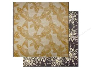 Anna Griffin Paper 12&quot;x 12&quot; Honoka Koi Fish (25 piece)