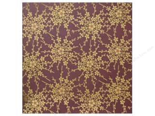 Anna Griffin Paper 12&quot;x 12&quot; Honoka Plum Blossom (25 piece)