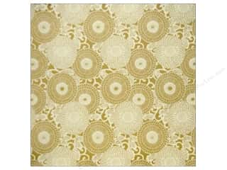 Anna Griffin: Anna Griffin 12 x 12 in. Cardstock Honoka Circles Ivory (25 pieces)