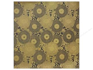 Anna Griffin 12 x 12 in. Cardstock Honoka Circles Grey (25 piece)