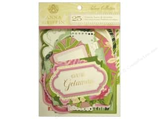 Anna Griffin Die Cut Palmer Titles Tags Quotes