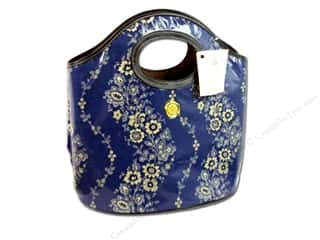 Anna Griffin Bucket Tote Fleur Rouge Blue