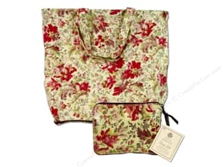 Anna Griffin Wrap Tote Fleur Rouge Red
