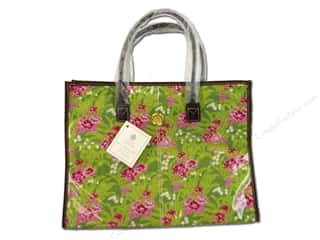 tote: Anna Griffin All Purpose Tote Palmer Floral Pink