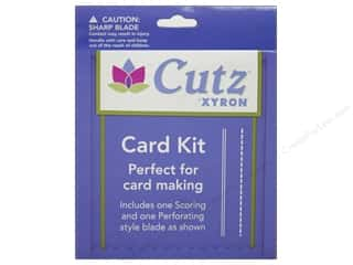 Weekly Specials Scissors: Xyron Creatopia Cut Cutz Blade Card Kit 1 2pc