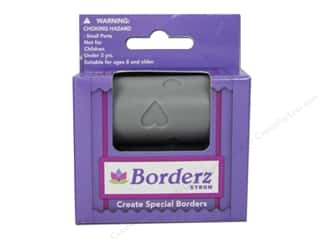 Borders Valentine's Day: Xyron Creatopia Embossing Patternz Border Hearts 1